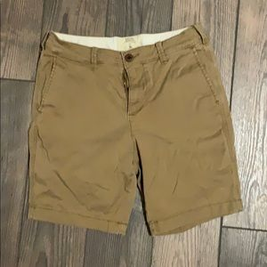 Men's 30 Hollister khaki shorts